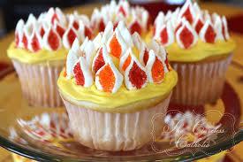 pentecost cupcakes
